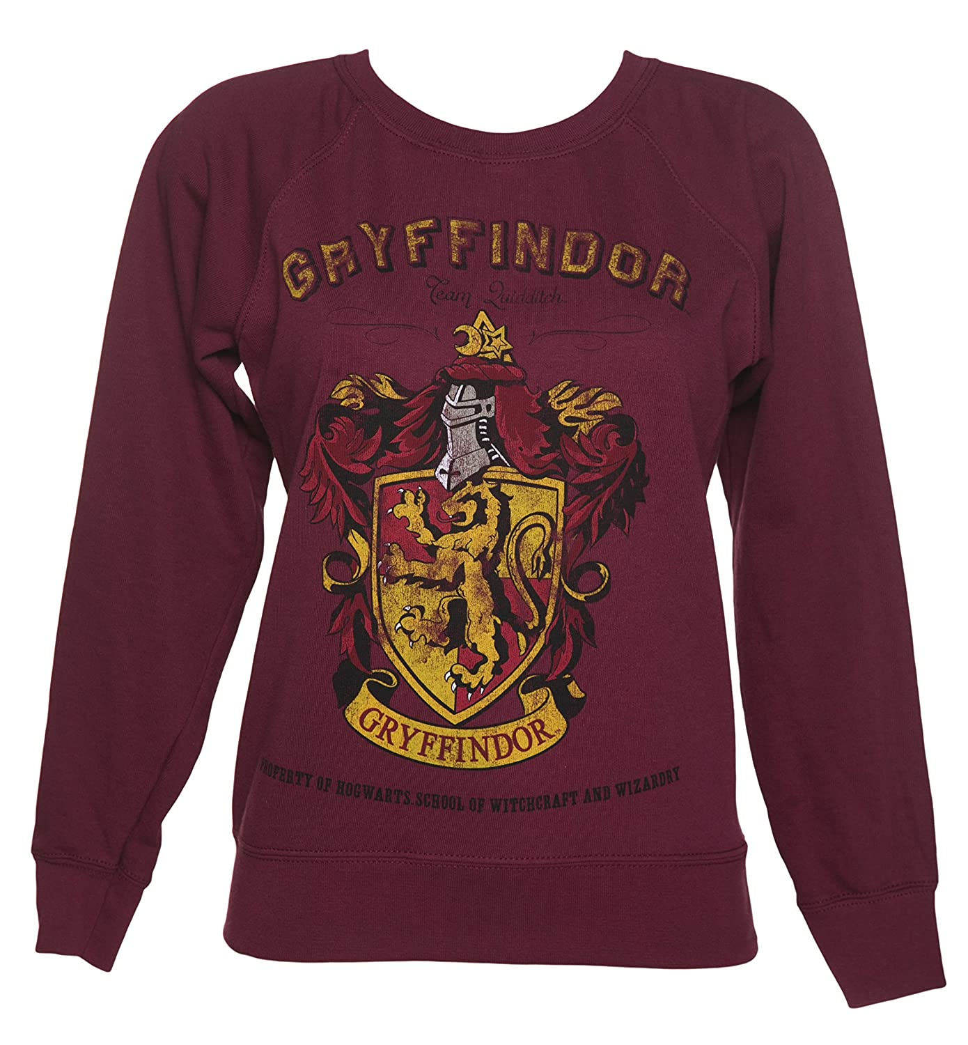 CID Womens Harry Potter Gryffindor Team Quidditch Sweater