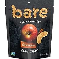 Bare Natural Apple Chips, Cinnamon, Gluten Free + Baked, Multi Serve Bag - 3.4 Oz (6 Count)