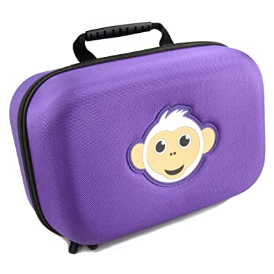 Casematix KidCase xL Toy Case Compatible with Fingerlings Baby Monkey Collector Toys , the Fun Way to Store Your Children's Play Set Collection: Toys & Games