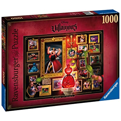 Ravensburger Disney Queen of Hearts 1000 Piece Jigsaw Puzzle for Adults – Every piece is unique, Softclick technology Means Pieces Fit Together Perfectly: Toys & Games
