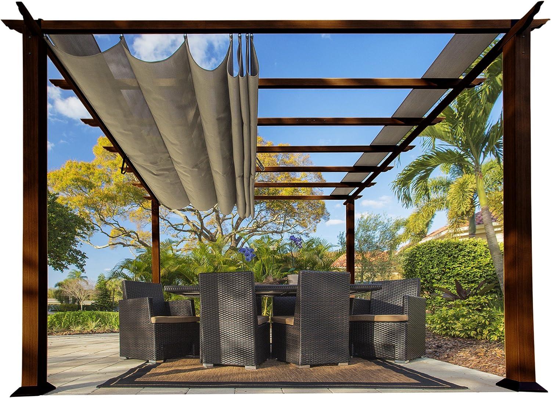 paragon-outdoor pr11wd2s Backyard estructura suave Top con ...