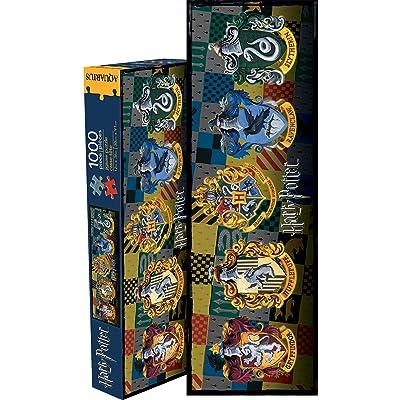 Aquarius Harry Potter Crests Slim 1000 Piece Jigsaw Puzzle: Toys & Games