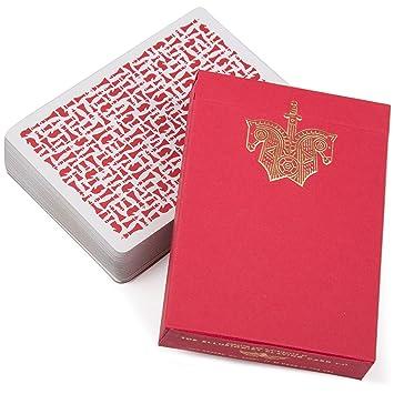 Ellusionist Baraja de cartas para jugar a caballeros rojos ...