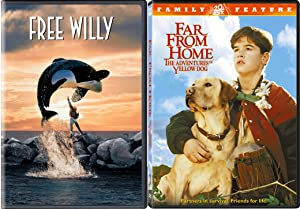 Friendly Animals Collection - Far From Home & Free Will - The Adventures Of Yellow Dog 2-Movie Bundle