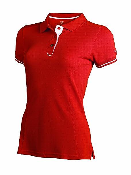 Wilson Staff Polo Authentic - Polo, Color Rojo, Talla XL: Amazon ...