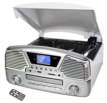ABC home Electronics 30616 Retro Radio HiFi estéreo ...