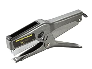 Bostitch B8 Heavy Duty 45 Sheet Plier Stapler, Full-Strip, Black (02245)