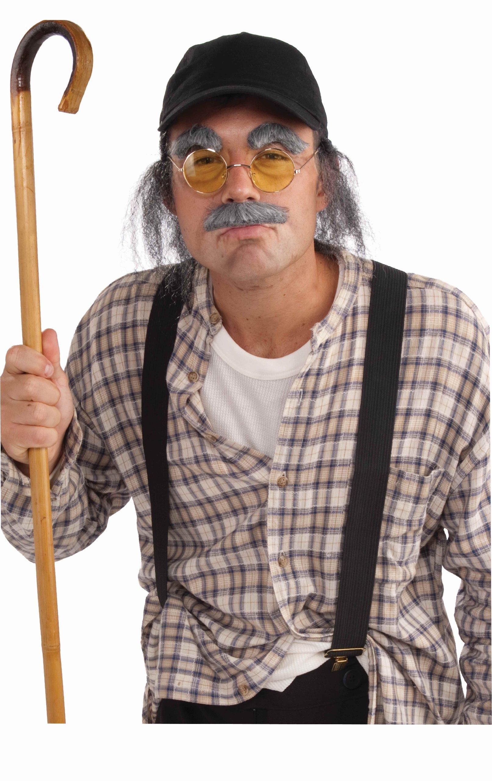 Old Man Adult Costume - Adult Std.