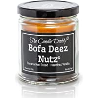 Bofa Deez Nutz- Funny- Banana Nut Bread n Hazelnut Vanilla- Scented Candle- Double Pour- 6 Ounce- 40 Hour Burn Time