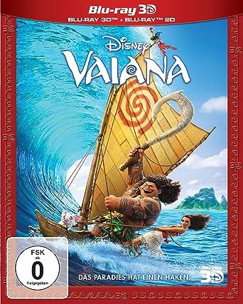 Vaiana 3d2d 3d Blu Ray Amazonde Ron Clements John Musker Dvd