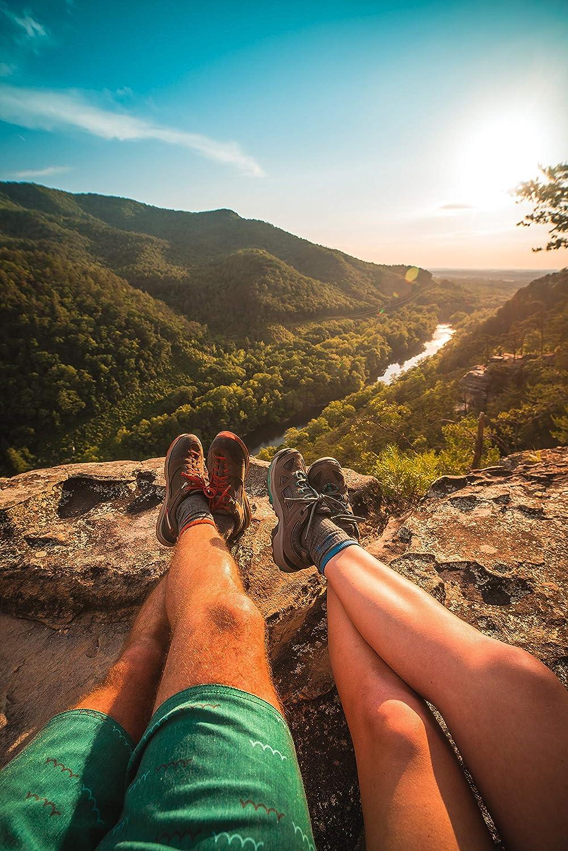 CloudLine Merino Wool Crew Hiking /& Trekking Socks for Men /& Women Medium Cushion