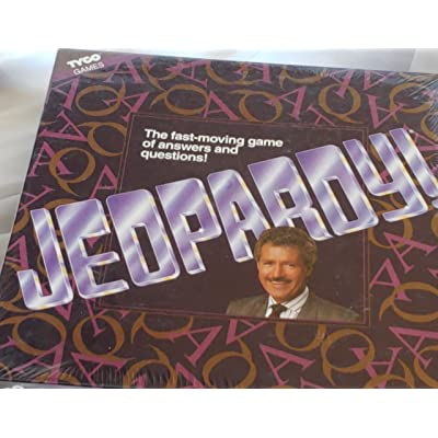 Jeopardy! Board Game: Toys & Games