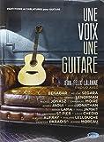 Lalanne Jean-Felix Une Guitare Une Voix Voice & Guitar Book