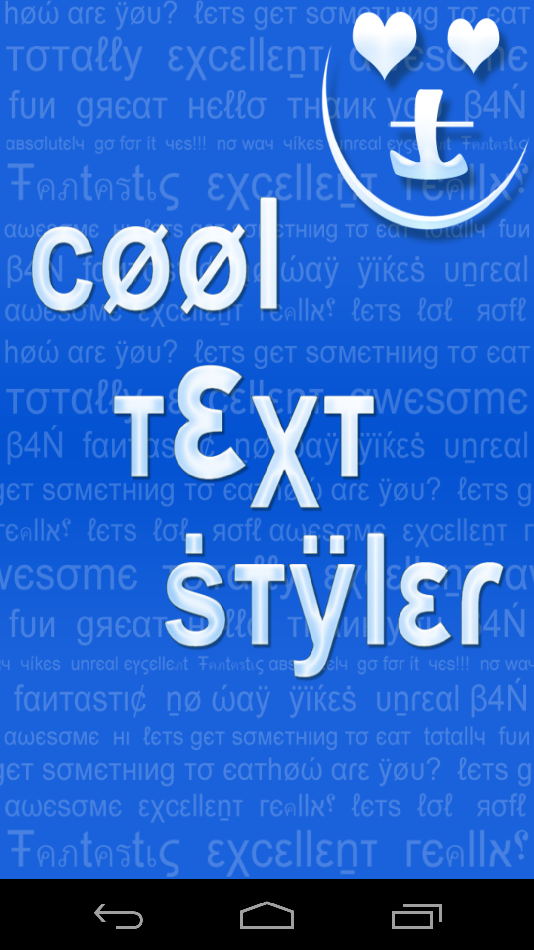 Amazon cool text styler emoji symbols text decorations amazon cool text styler emoji symbols text decorations appstore for android biocorpaavc Images
