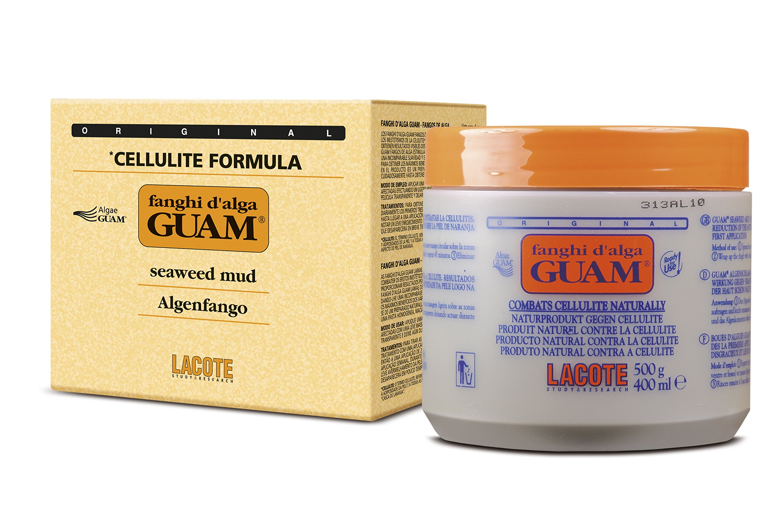 GUAM Anti Cellulite Mud Treatment-500G by Guam