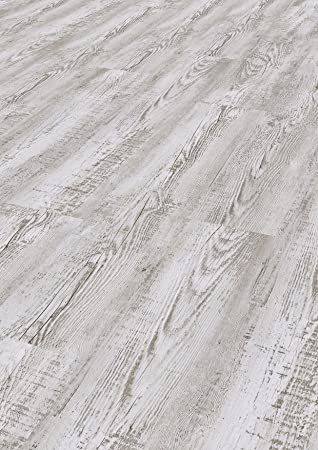 Toledo silver Tepcor Klick Vinylboden Premium Vinylbodenbelag mit Klicksystem Pflegeleichte und wasserfeste Vinyl Bodenbel/äge in vielen verschiedenen Farben