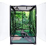 Amazon Com Jumbo Xxl Screen Reptile Habitat Cage U S