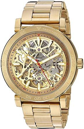 a20703de1 Amazon.com: Michael Kors Men's Halo Gold-Tone Watch MK9035: Watches
