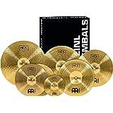 "Meinl Cymbals Super Set Box Pack with 14"" Hihats, 20"" Ride, 16"" Crash, 18"" Crash, 16"" China, and a 10"" Splash – HCS Tradition"