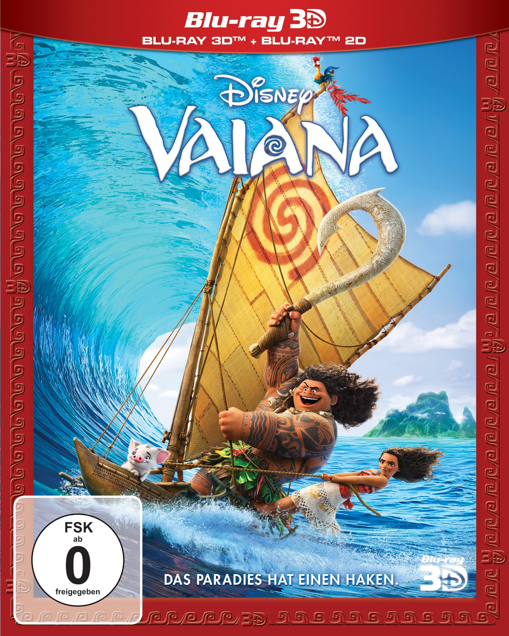 Vaiana: Blu-ray 3D + 2D: Amazon.es: Clements, Ron, Musker ...