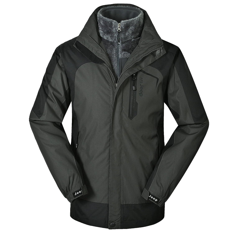 68b48b9f287 Amazon.com   ZHEN Outdoor Sportswear Men s Venture Jacket 2-in-1 Jacket  with Pockets   Sports   Outdoors