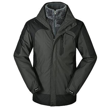 a75d4e98783 ZHEN Outdoor Sportswear Men s Venture Jacket 2-in-1 Jacket with Pockets