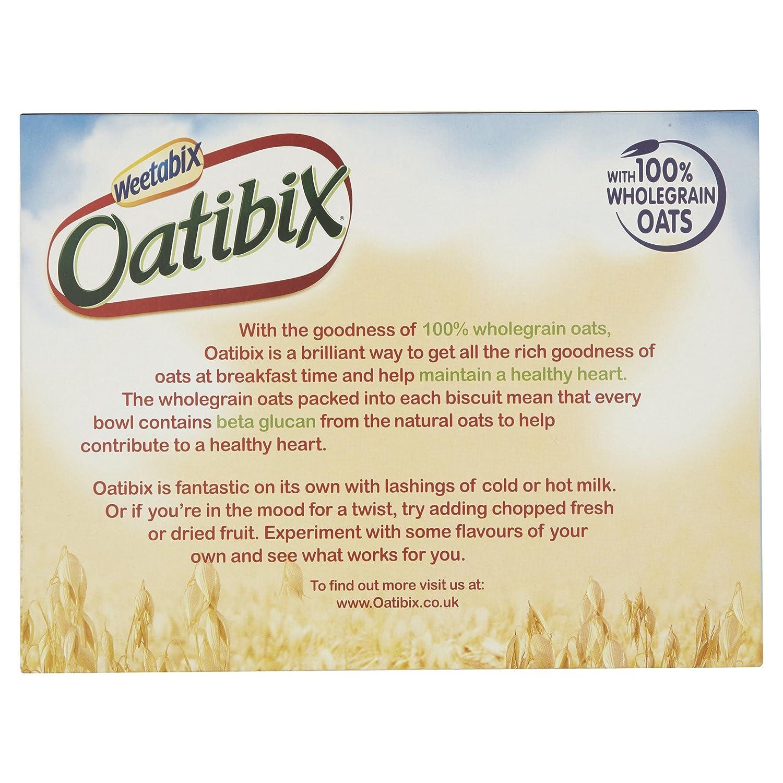 Weetabix Avena Oatibix - Paquete de 12 x 575 gr - Total: 6900 gr: Amazon.es: Alimentación y bebidas