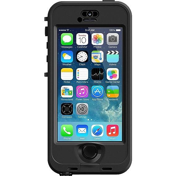 95bb6c2091b LifeProof LPIPH5SNU02BK Funda para teléfono móvil Negro, Gris - Fundas para  teléfonos móviles (Funda, Apple, iPhone 5S, Negro, Gris): Amazon.com.mx: ...