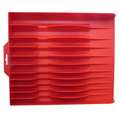 Tool Sorter Pliers Organizer Red: Home Improvement