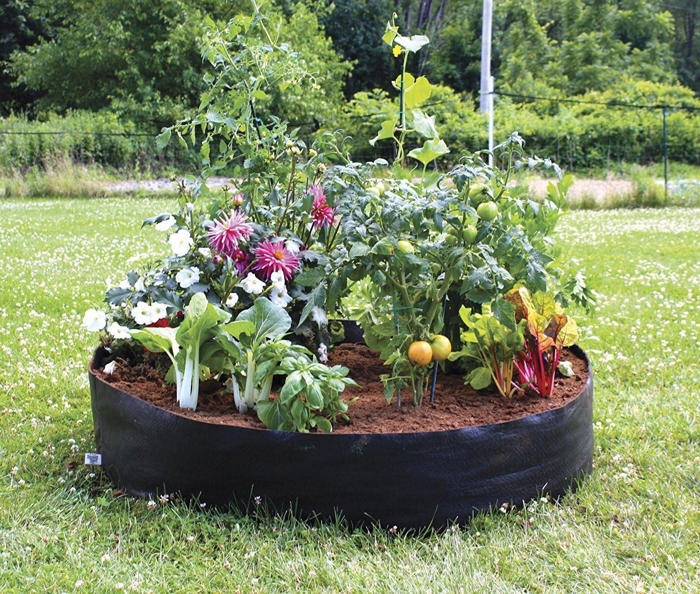 YUIOP Grow Bag, Planter Bags,Planting Container Planter Pot,100 Gallon,Garden Felt Grow Bags for Growing Potato, Carrot Onion