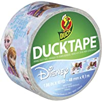 Duck Brand Disney's Frozen Elsa & Anna Duck Tape, 1.88 Inches x 10 Yards, Single Roll