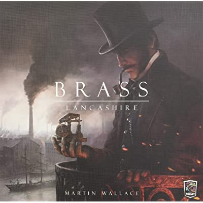 Roxley Games Brass: Lancashire Board Games: Toys & Games