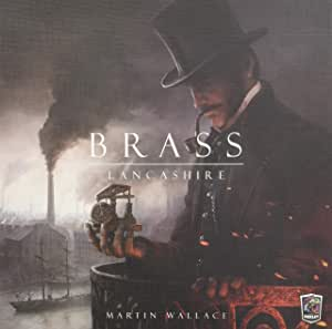 Roxley Games PSI Brass Lancashire Board Games