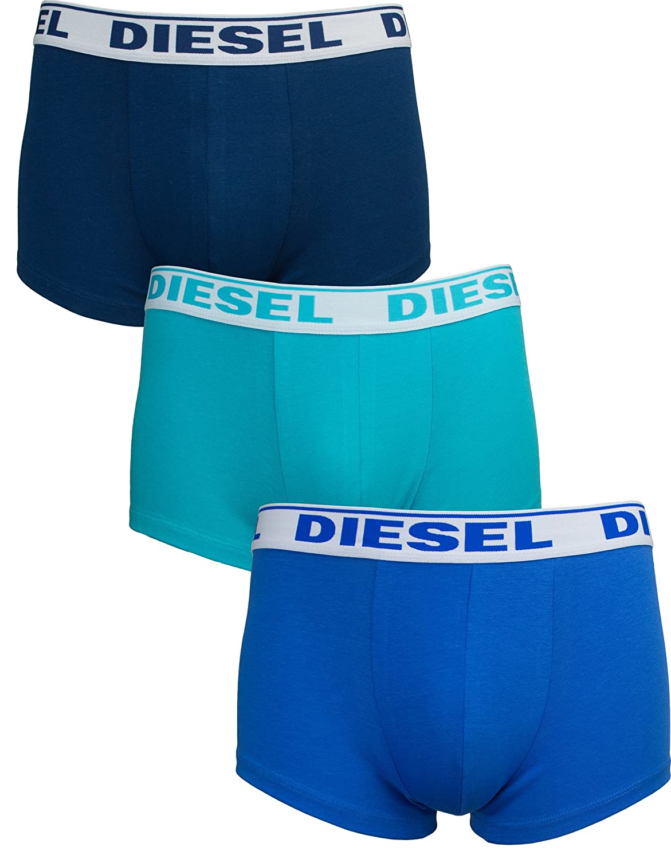 Diesel Mens Shawn 3 Pack Boxer Trunks 00SB51