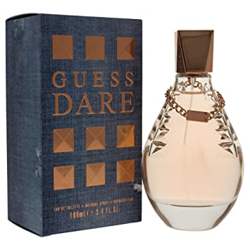 Amazoncom Guess Dare Eau De Toilette Spray For Women 34 Fluid