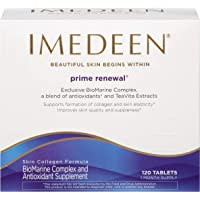 Imedeen Prime Renewal Skin Collagen Formula for 50 Plus Skincare Beauty Supplement, 120 Count