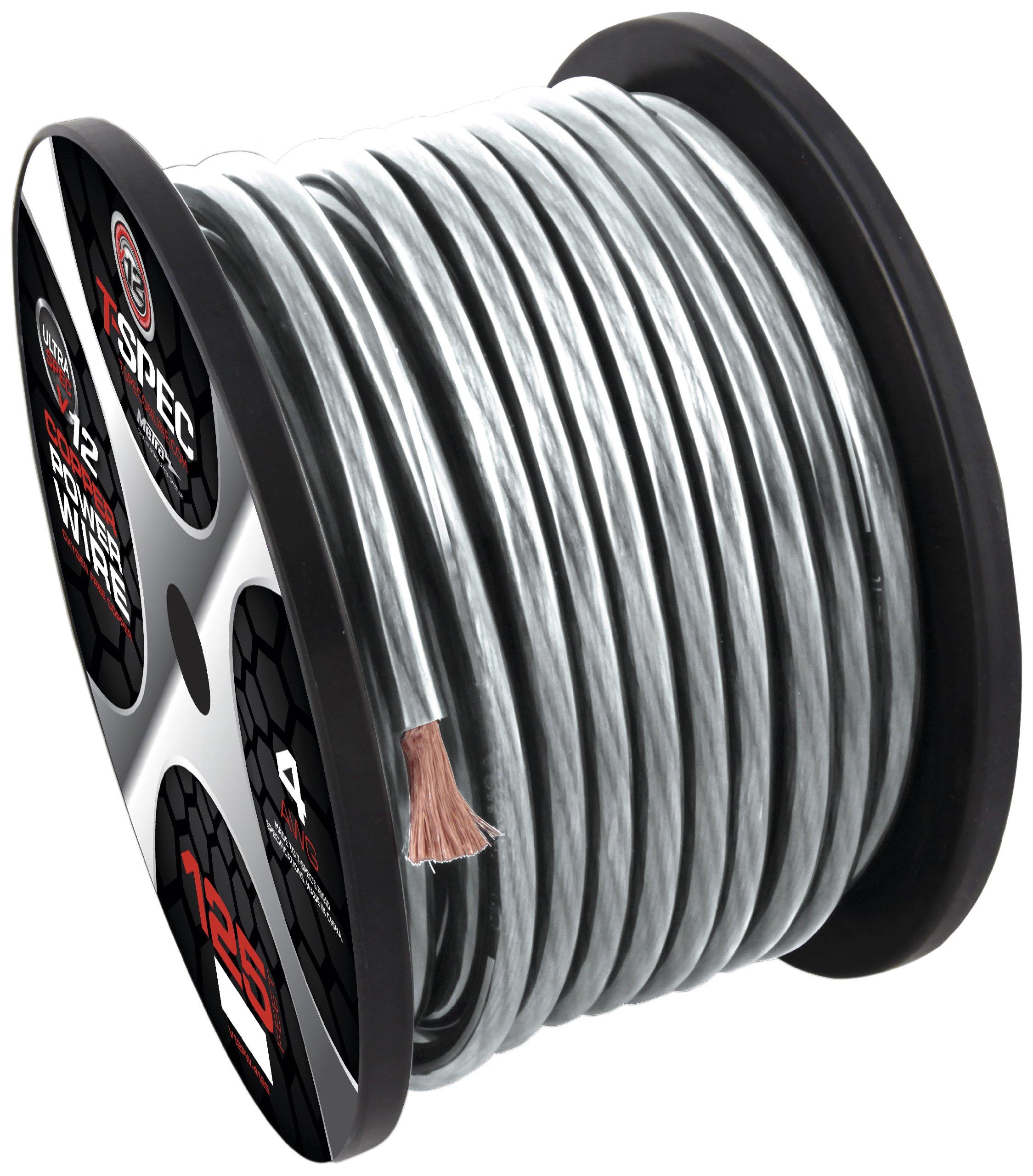 T-Spec V12GW-8250 V12 Series Power Wire Spools 8 AWG, 250-Feet