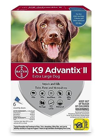Amazon Bayer K9 Advantix Ii Flea Tick And Mosquito Prevention