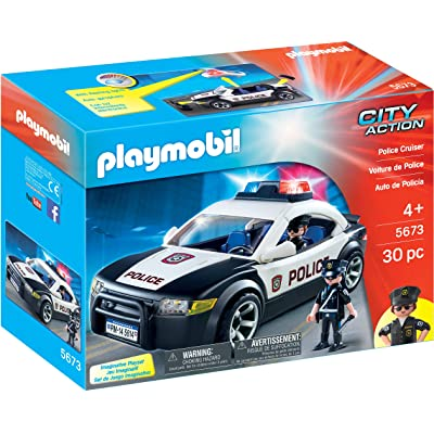 PLAYMOBIL Police Cruiser: Toys & Games