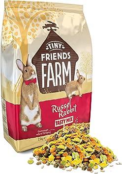 Supreme Tiny Friends Farm Russel Rabbit Tasty Mix 2 5kg Amazon Co Uk Pet Supplies