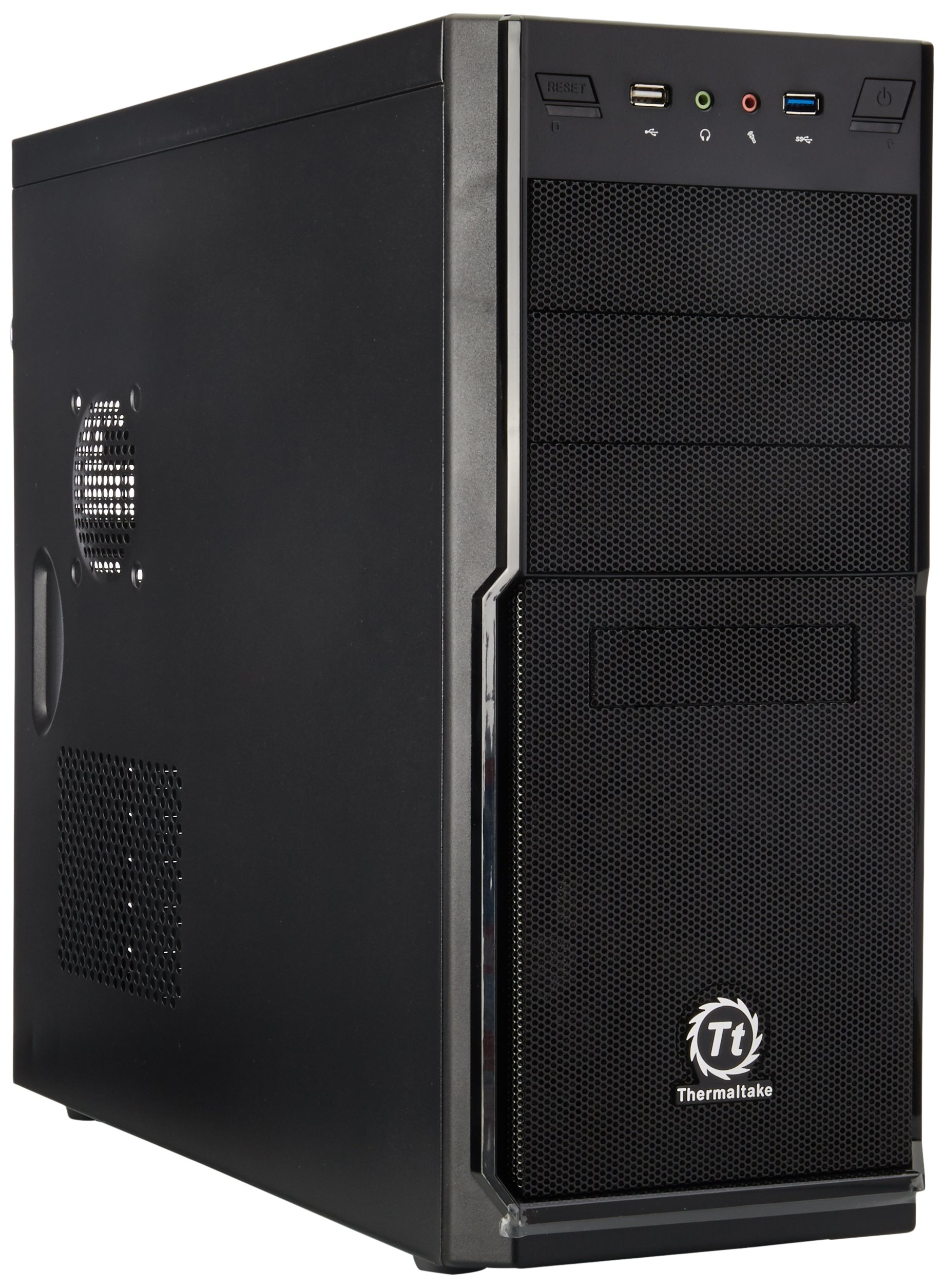 Thermaltake V2 Plus 450W Mid Tower Case, Black VO54521N2U