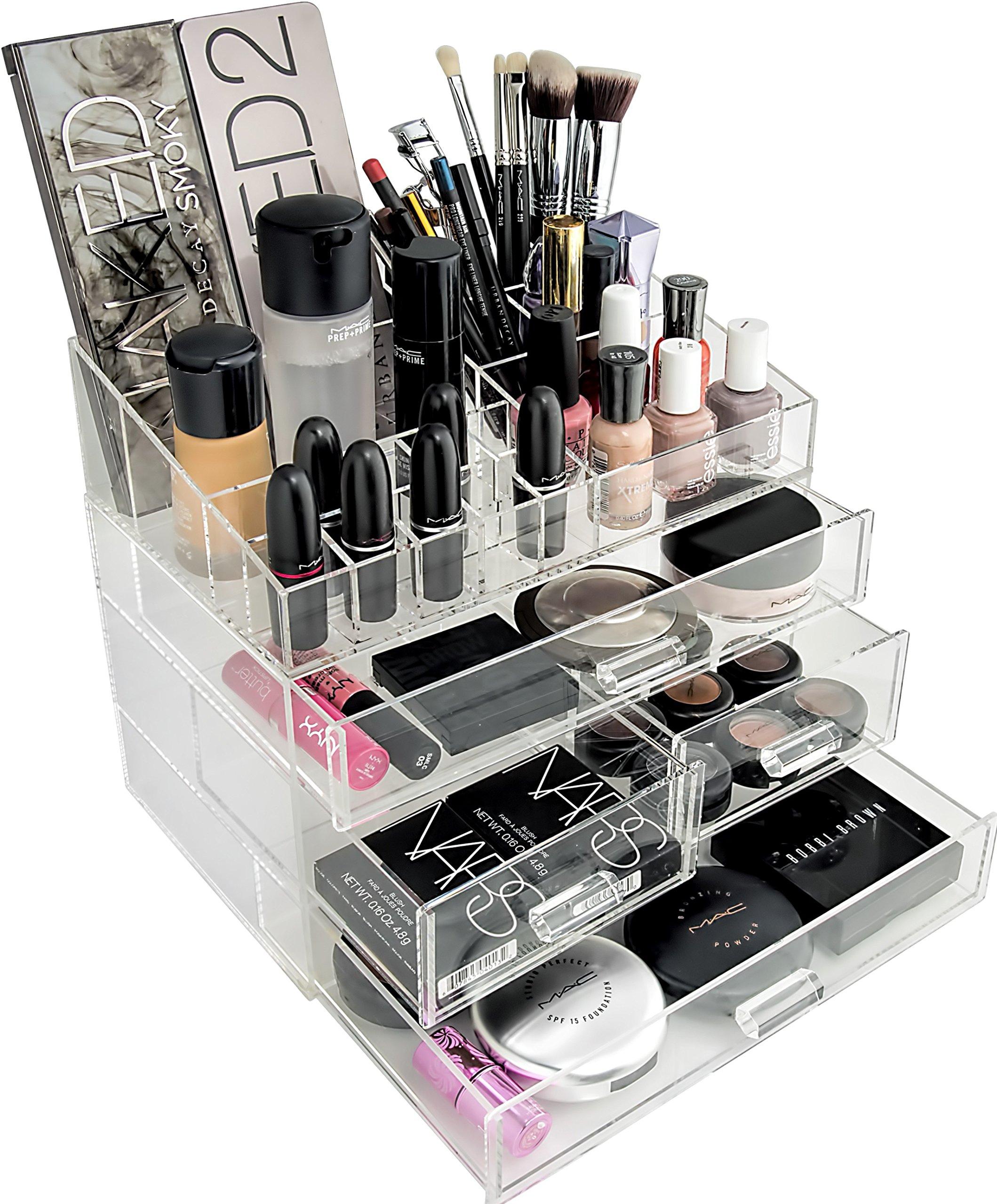 Organizta Acrylic Makeup & Cosmetic Organizer (Large)