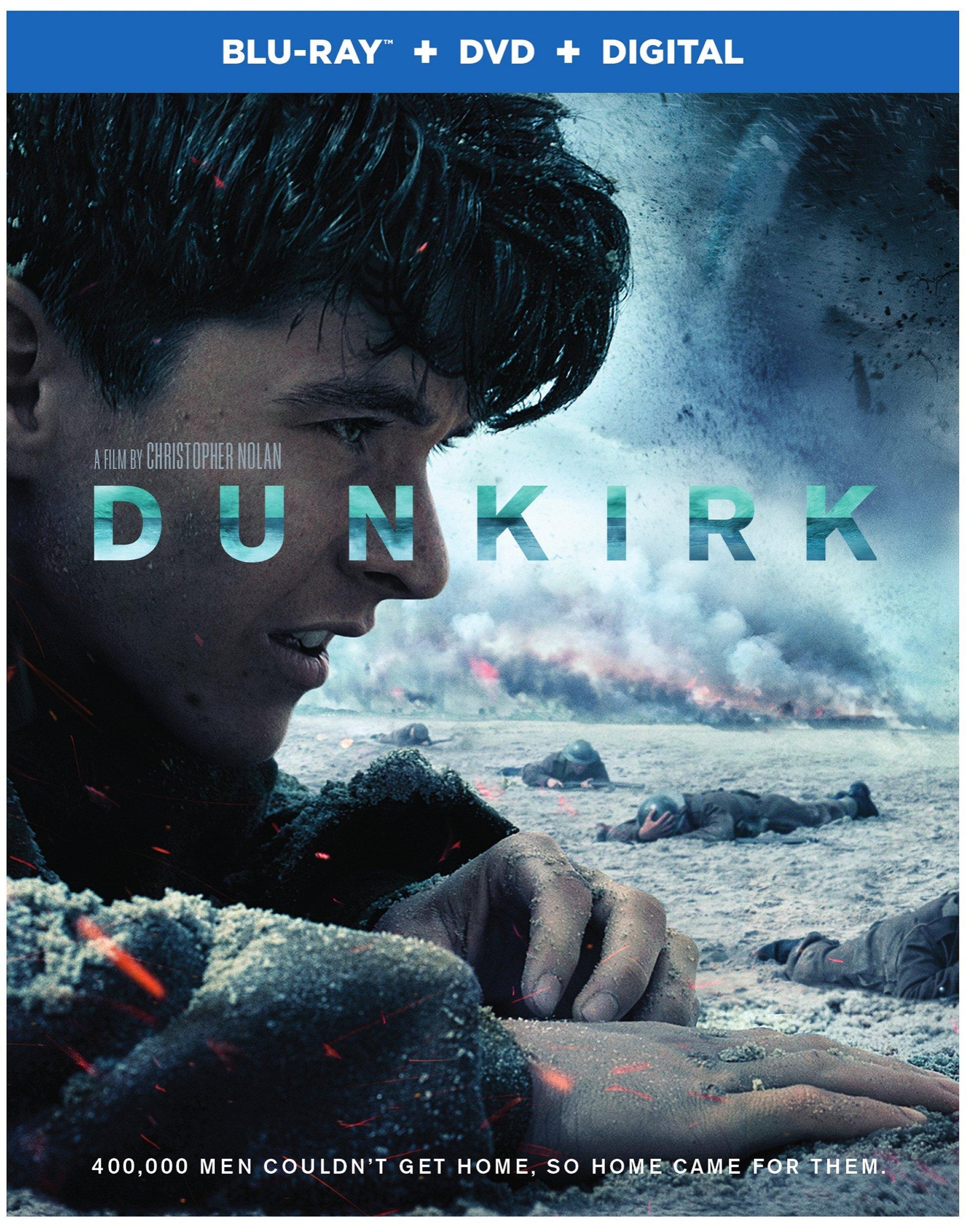Warner Home Video Dunkirk (2017) (Blu-ray + DVD + Digital)
