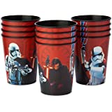 American Greetings Star Wars: the Last Jedi 12 Count 16 Oz Plastic Party Cups
