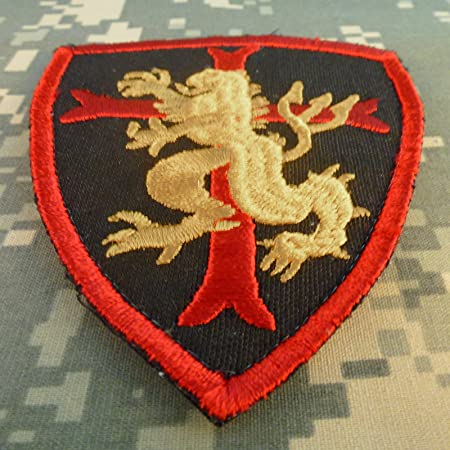 2AFTER1 US Seal Team Six Lion Crusader Cross Shield ST6 DEVGRU Touch Fastener Patch