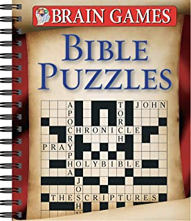 photograph relating to Printable Bible Crossword Puzzles With Scripture References called Bible Crosswords--Substantial Print: Compiled by way of Barbour Staff members