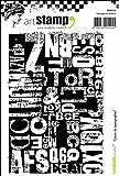 Carabelle Studio Cling Stamp A6-Letterpress Storage