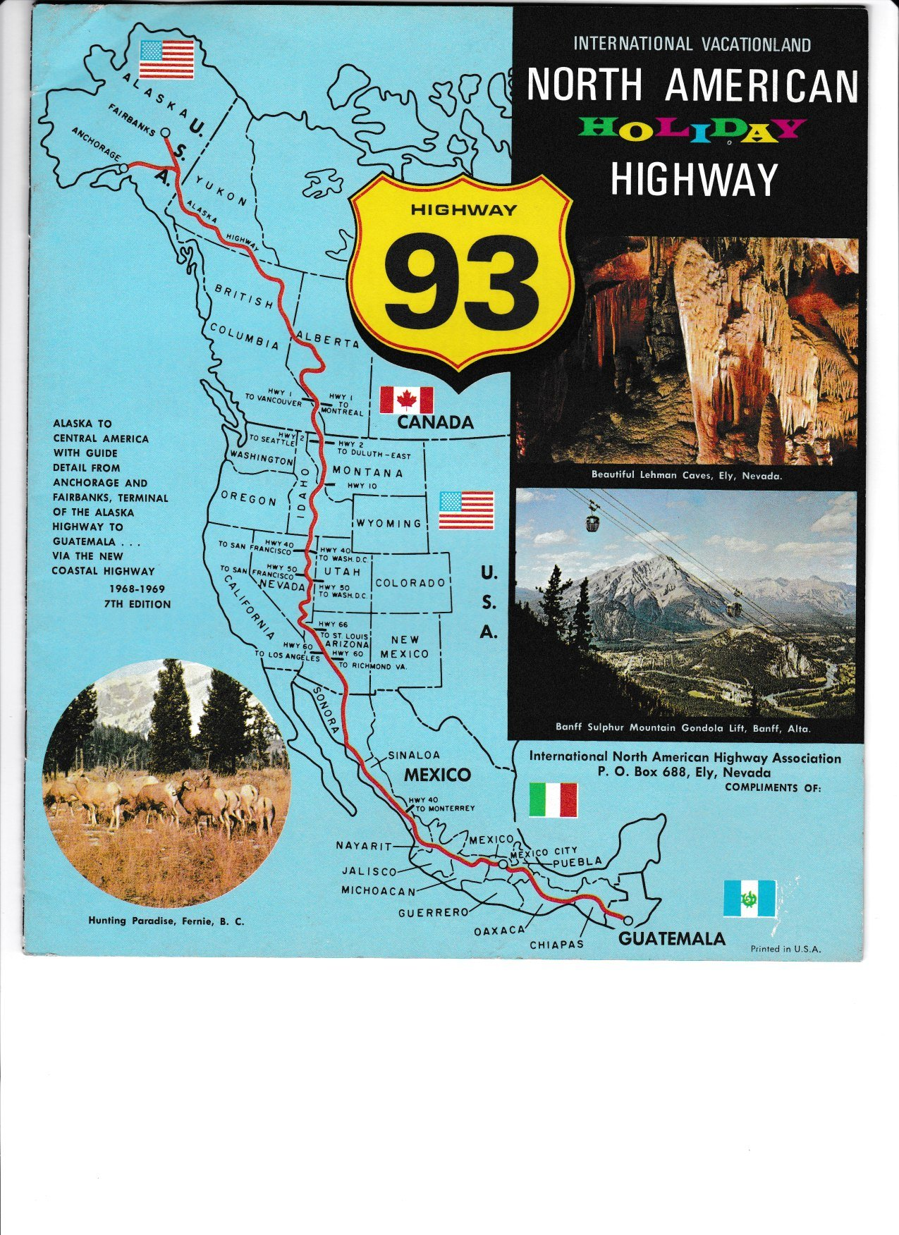 NORTH AMERICAN HOLIDAY HIGHWAY 93, Scenic Direct ...