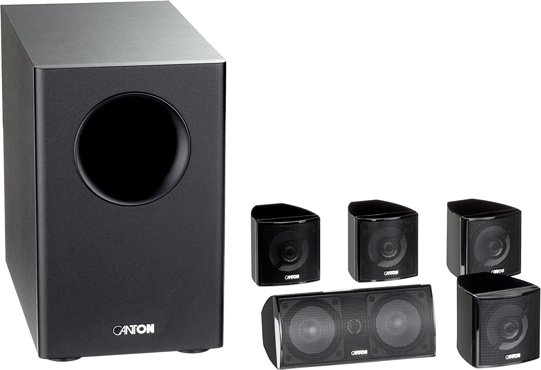 Canton Movie 85 Cx 2 Wege 5 1 Lautsprecher System Schwarz Audio Hifi