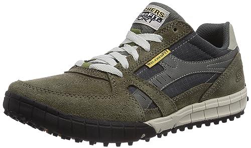 9b8c181a72 Skechers Floater Zapatillas de piel para hombre  Skechers  Amazon.es   Zapatos y complementos